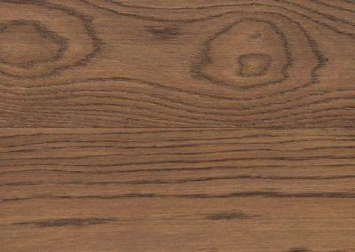 Hardwood flooring in oak